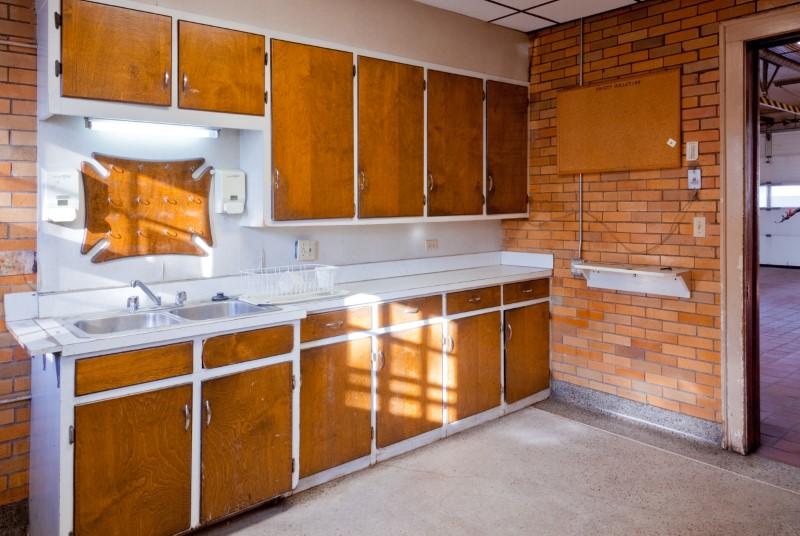 old cabinets before shot historic remodel preservation